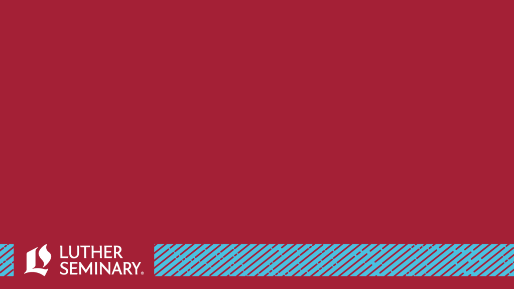 Maroon zoom background with blue stripe